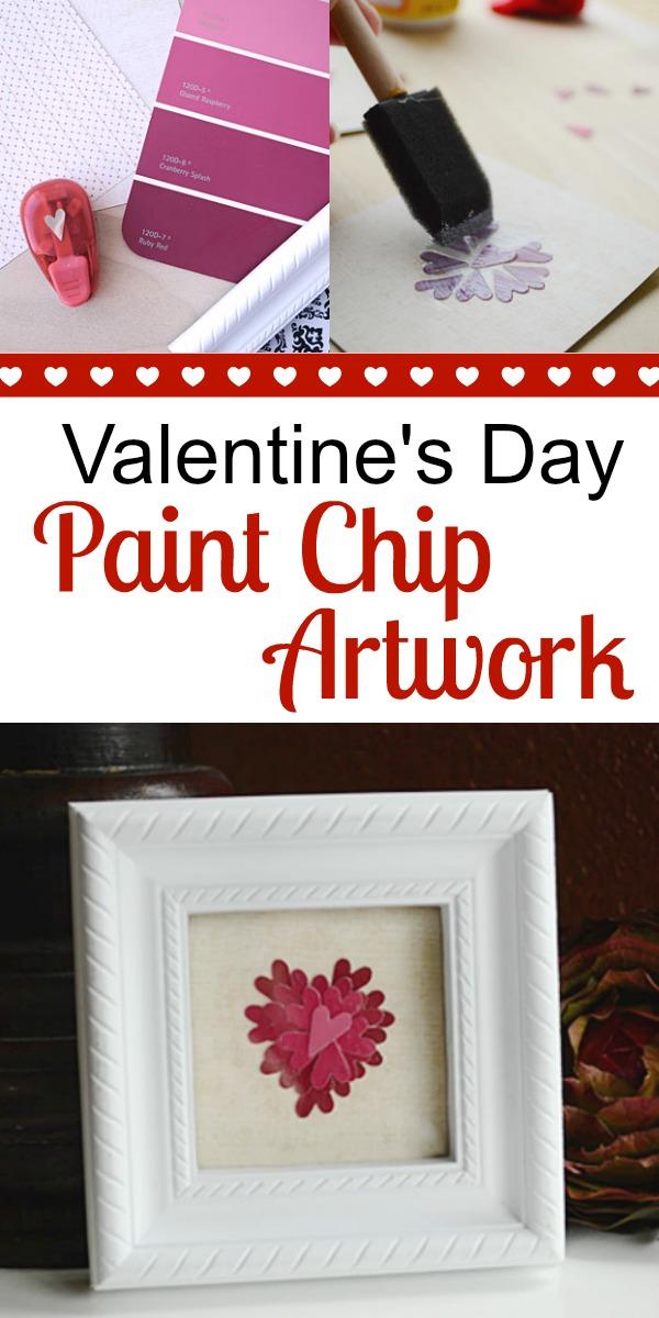 Valentine's Day Paint Chip Artwork | Storypiece.net