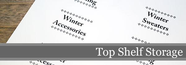Top Shelf Storage Ideas | Storypiece.net
