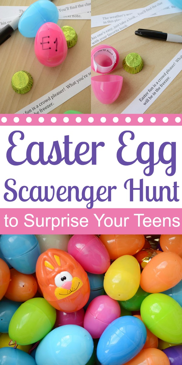 A Spectacular Easter Scavenger Hunt to Surprise Your Teens | Storypiece.net