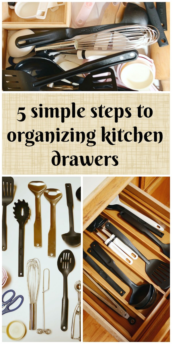 Organize Kitchen Drawers | Storypiece.net