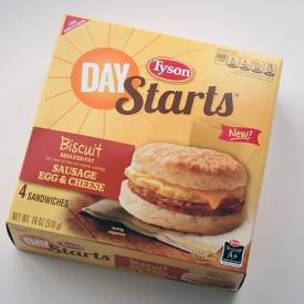 Tyson Day Starts Sandwiches | Storypiece.net