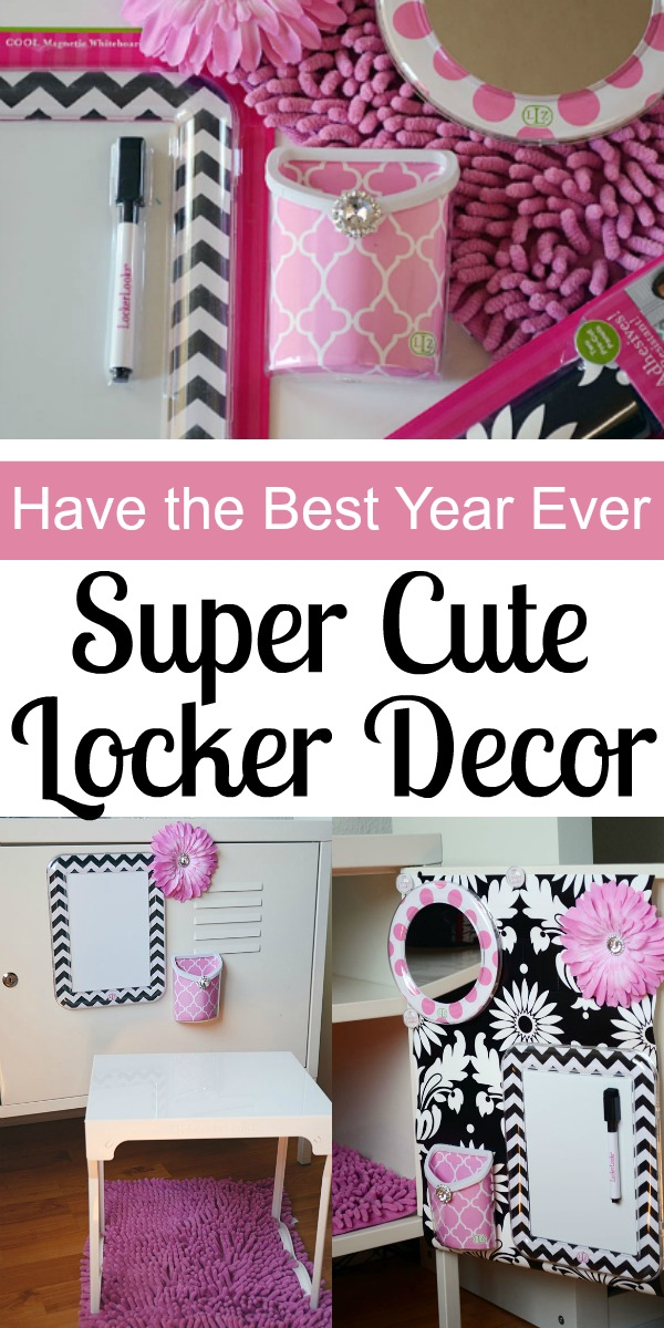 Have the Best Year Ever with Super Cute Locker Decor