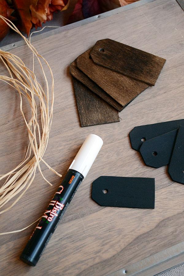 Chalkboard Napkin Rings | Storypiece.net