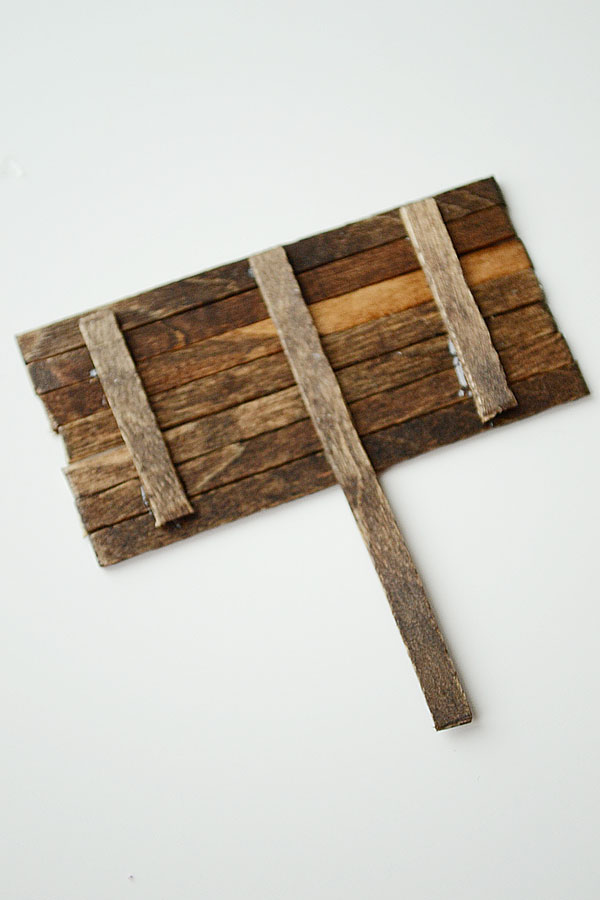 Mini Pallet Decor | Storypiece.net