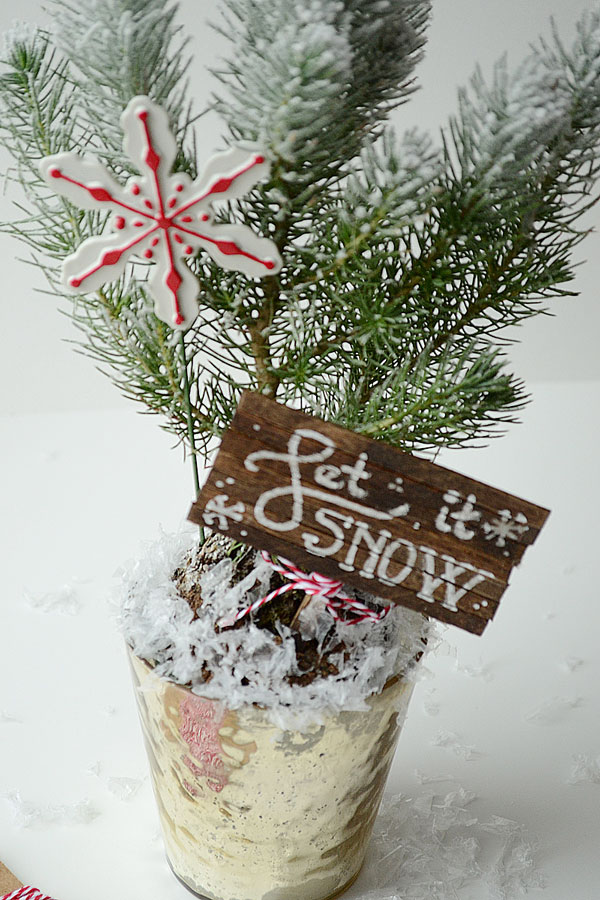 Rustic Christmas Centerpieces | Storypiece.net