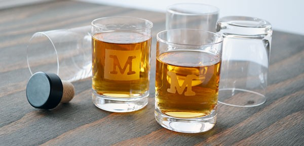 Give Custom Shot Glasses for Father's Day | Storypiece.net