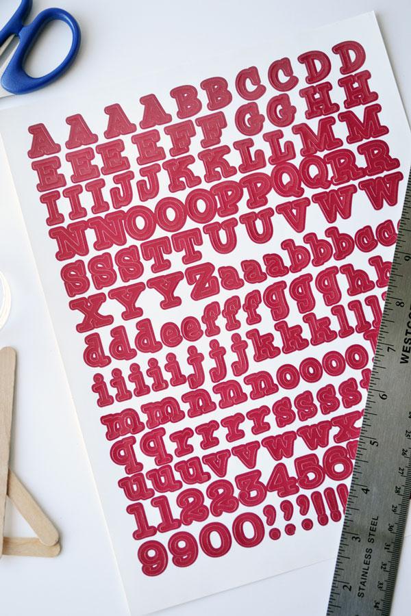 Vinyl Lettering | Storypiece.net
