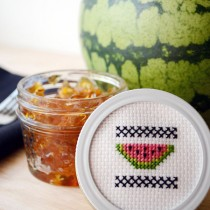 Watermelon Cross-stitch Pattern | Storypiece.net