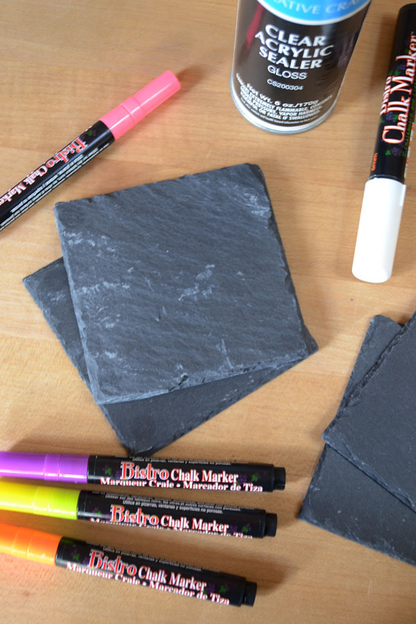 Chalk Art Coaster Supplies | Storypiece.net