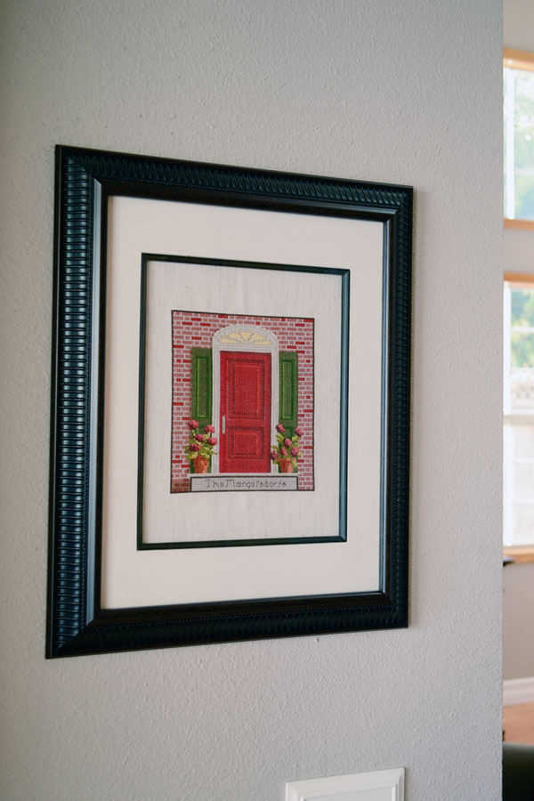 Entryway Cross-stitch Artwork | Storypiece.net