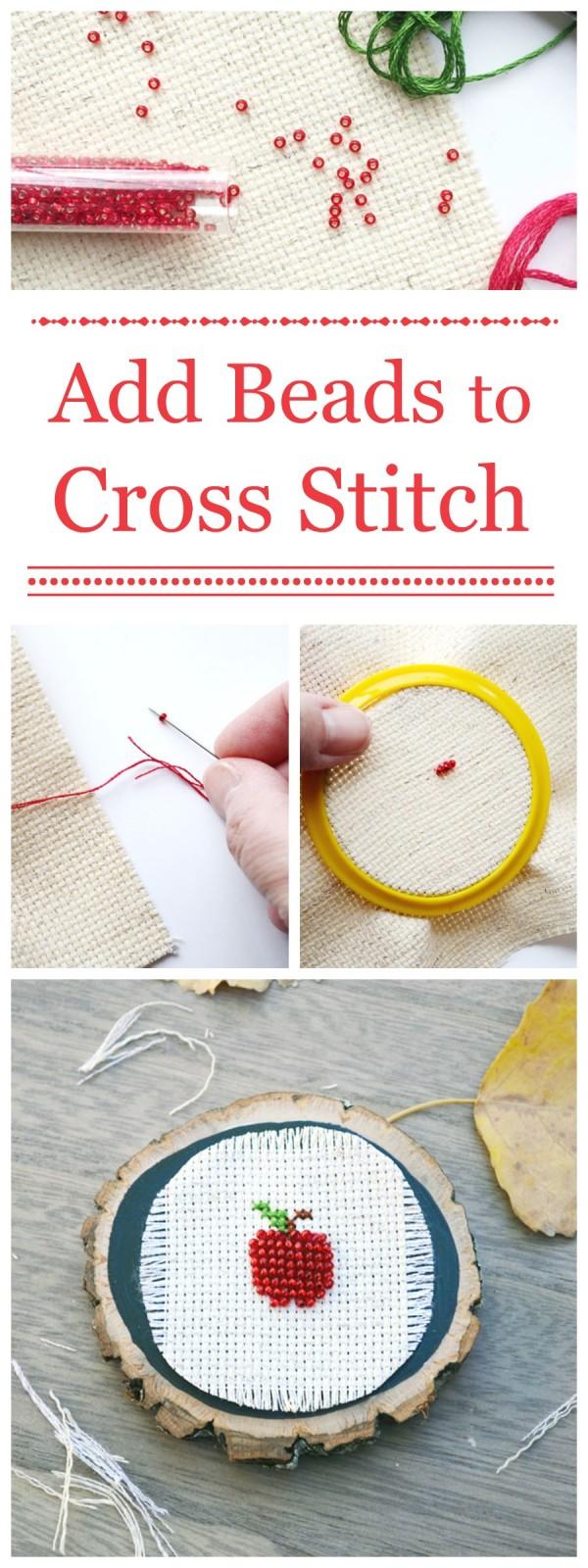 Add Beads to Cross-Stitch | Storypiece.net