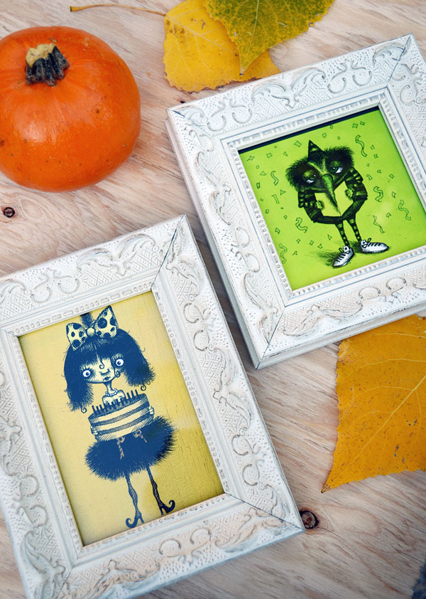 Framed Greeting Card Art | Storypiece.Net