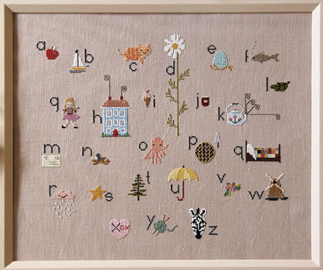 Cross Stitch Sampler | Storypiece.net