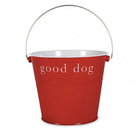 Good Dog Red Bucket | Storypiece.net