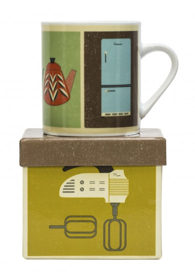 Retro Kitchen Mug   Storypiece.net