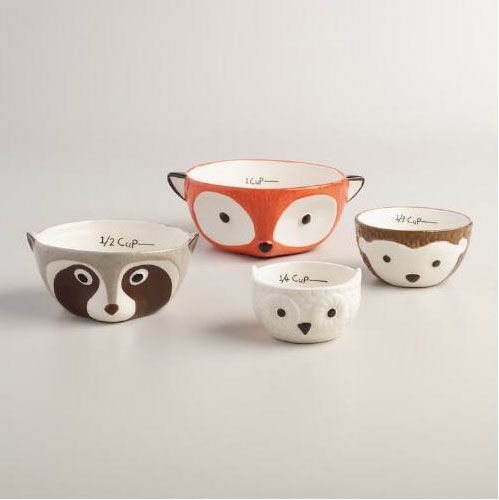 Woodland Critters Measuring Bowls | Storypiece.net