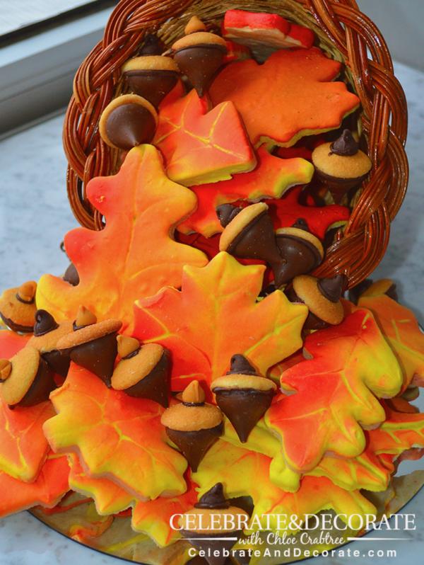 Fall Leaf Cookies