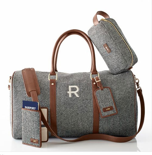 Herringbone Luggage Set