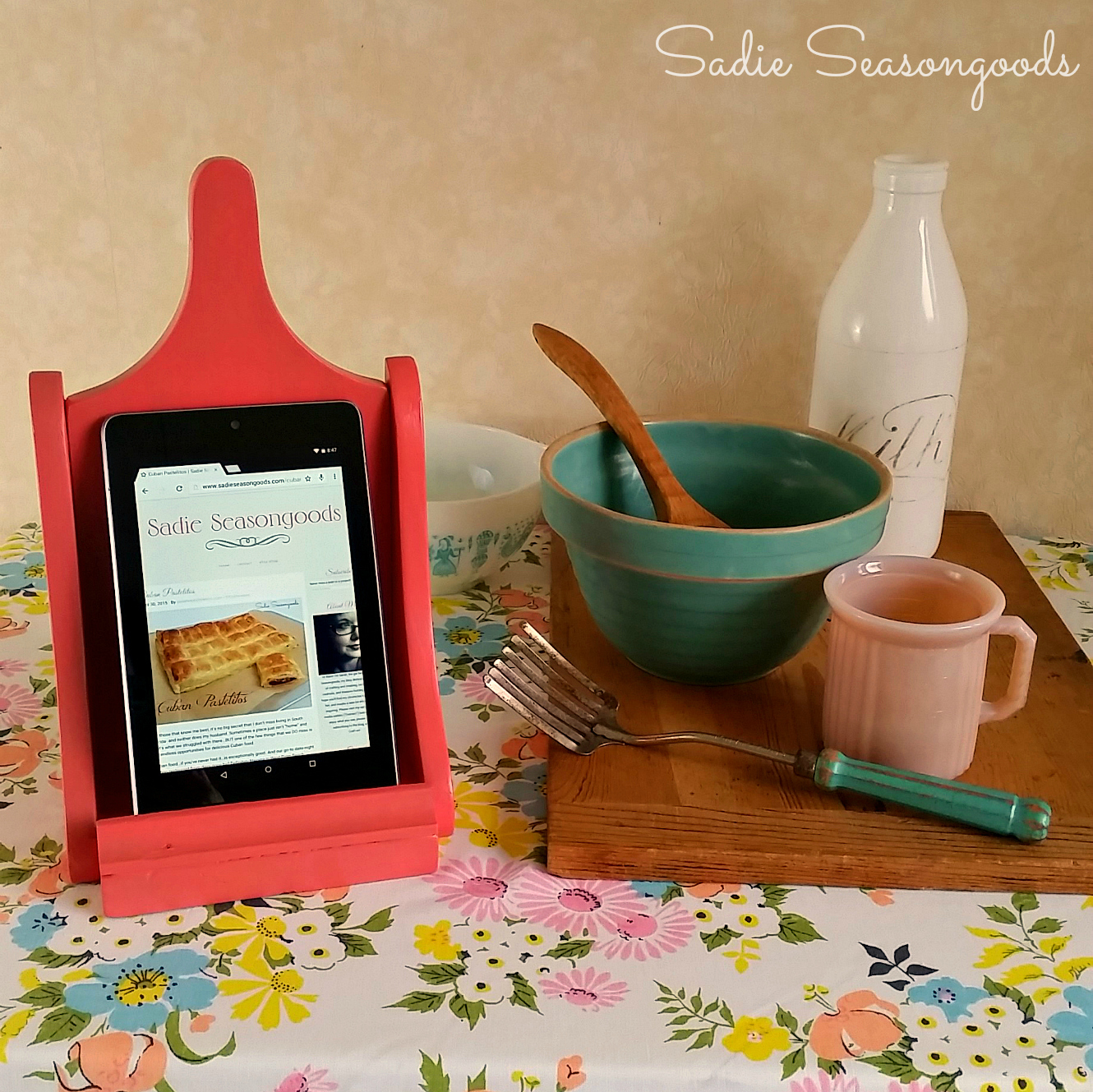 Repurpose Tablet Stand