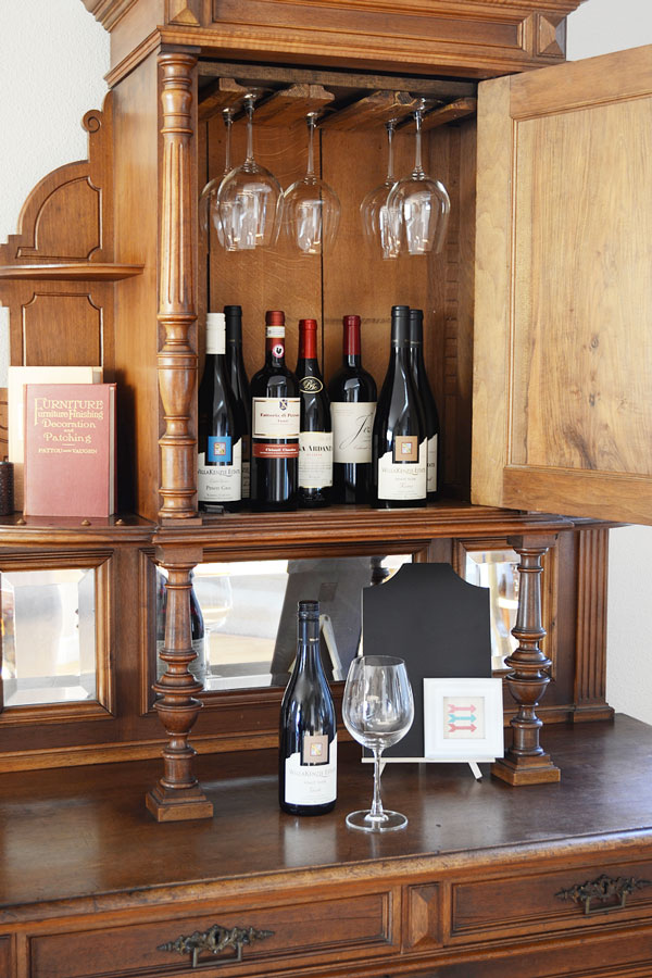 Wine Glass Rack | Storypiece.net
