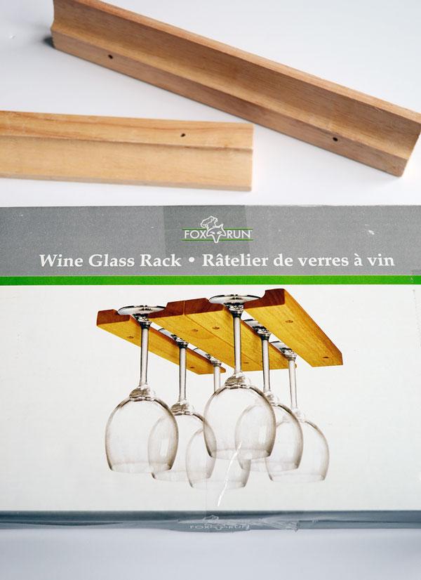 Wood Wine Glass Rack | Storypiece.net