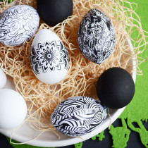 Adult Coloring Page Easter Eggs   Storypiece.net