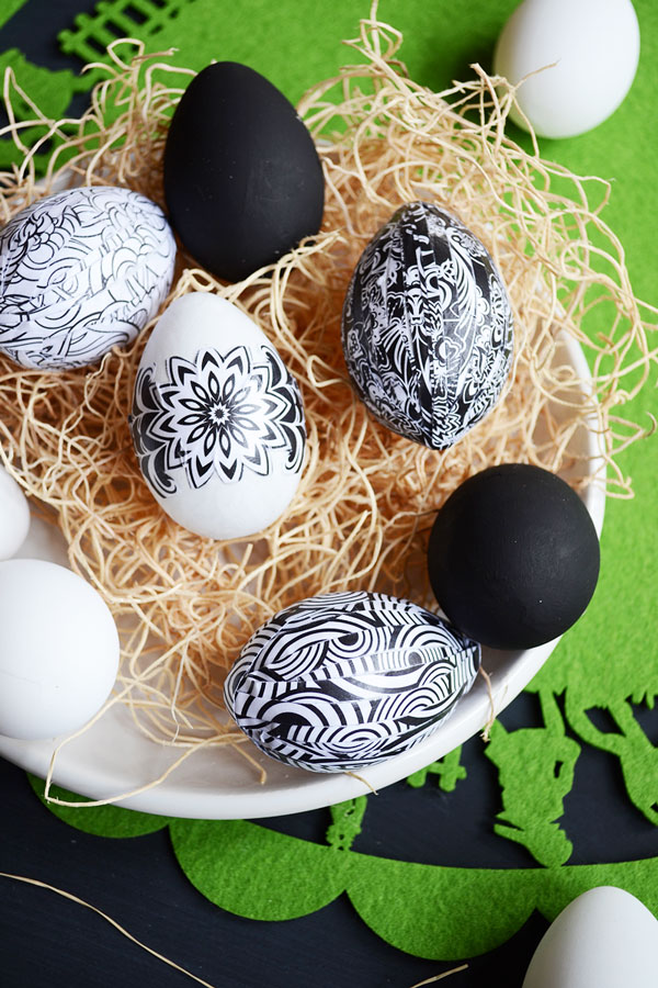 Adult Coloring Page Easter Eggs | Storypiece.net