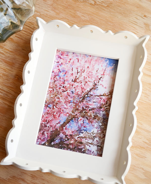 Cherry Blossom Watercolor Artwork | Storypiece.net