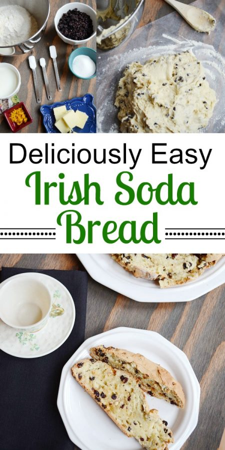 Deliciously Easy Irish Soda Bread for St. Patrick's Day