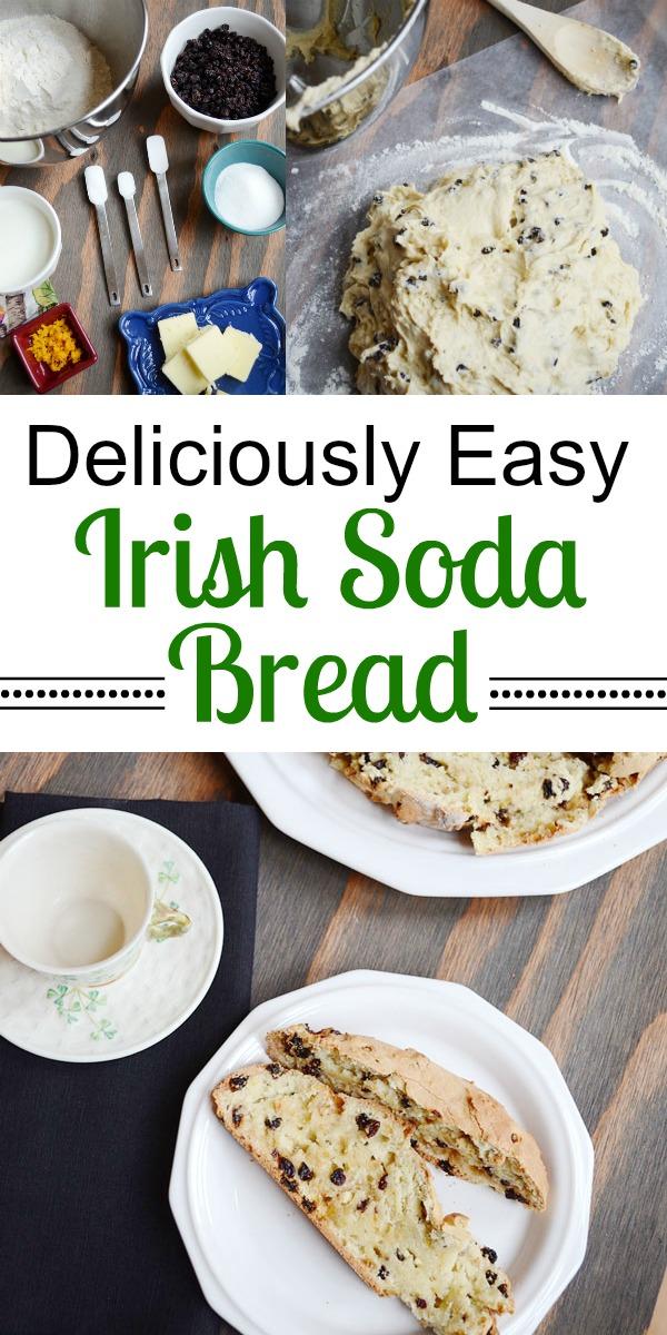 Deliciously Easy Irish Soda Bread for St. Patrick's Day