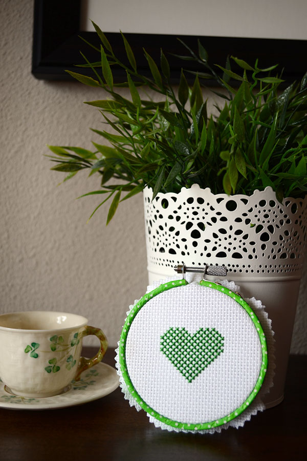 St. Patrick's Day Cross-stitch Pattern | Storypiece.net