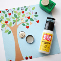 Easy Bottle Cap Buttons | Storypiece.net