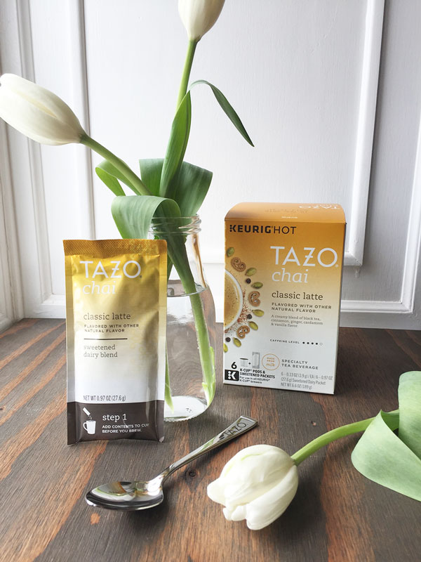 TAZO Chai Latte K-Cup Pods | Storypiece.net