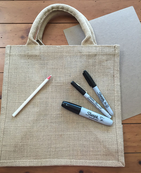 Hand Lettered Tote Bag Supplies | Storypiece.net