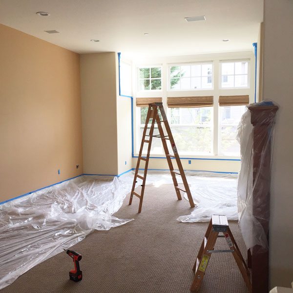 Painted Family Room Before   Storypiece.net