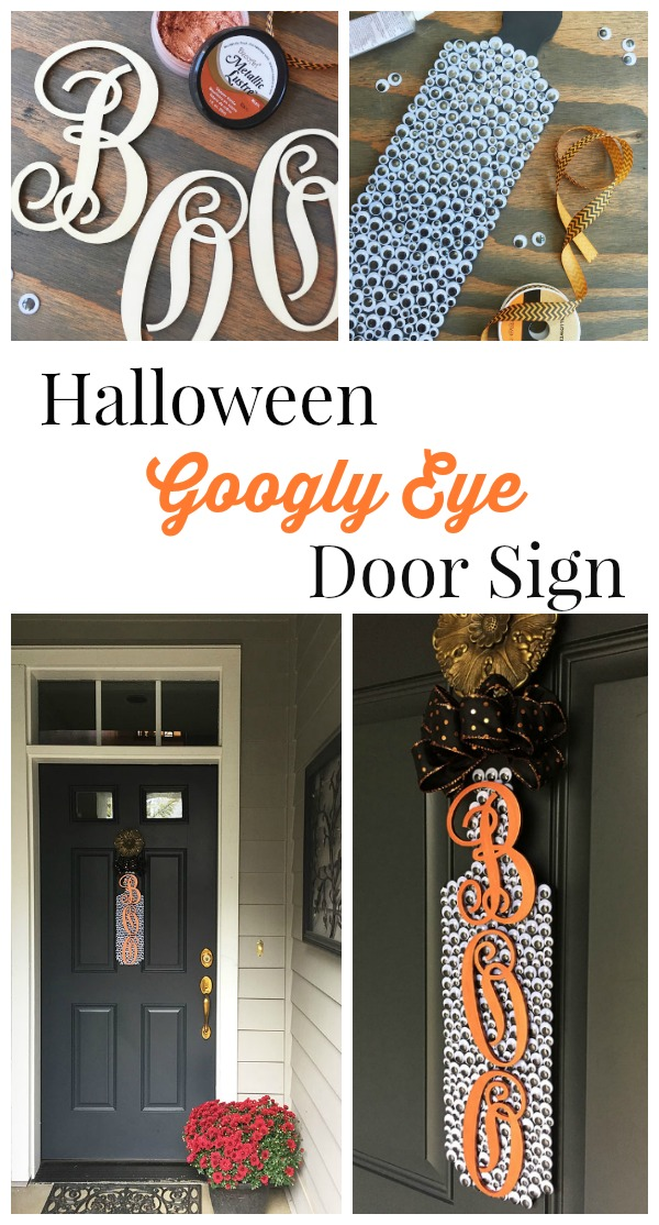 Halloween Googly Eye Door Sign | Storypiece.net