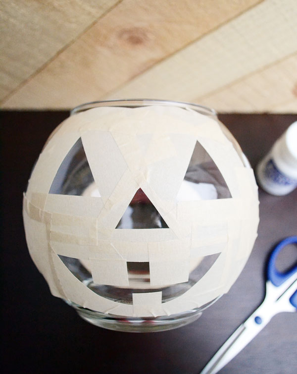 Create Your Own Glass Etched Jack-o-lantern | Storypiece.net