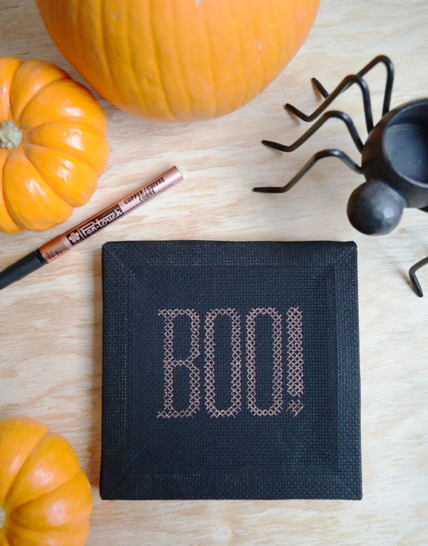 free-halloween-cross-stitch-pattern | Storypiece.net