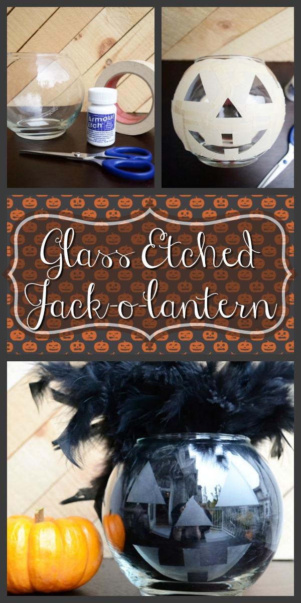 Glass Halloween Jack-o-lantern | Storypiece.net
