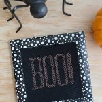 How to Make a Spooky Faux Halloween Cross-Stitch