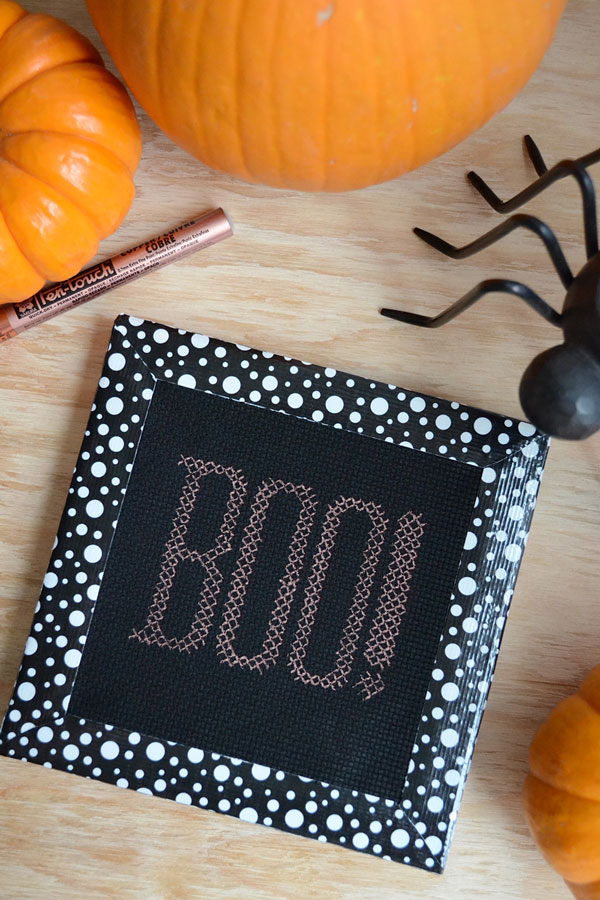 Halloween Faux Cross-Stitch | Storypiece.net
