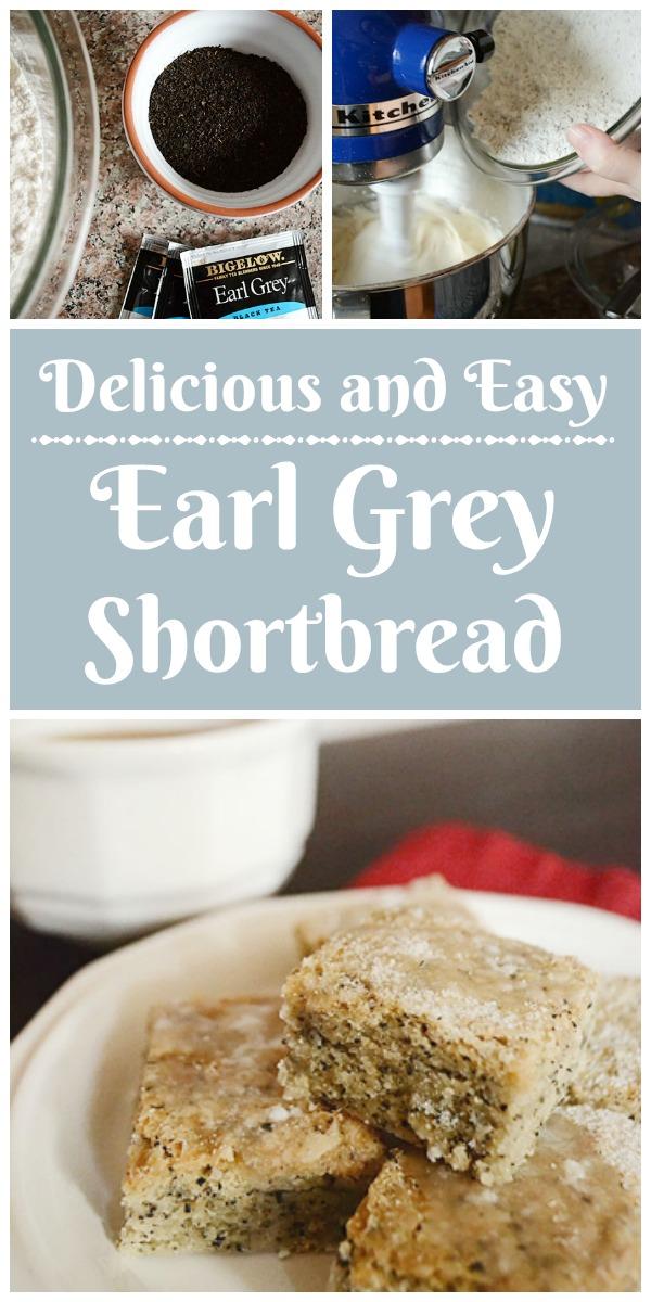 Delicious and Easy Earl Grey Shortbread