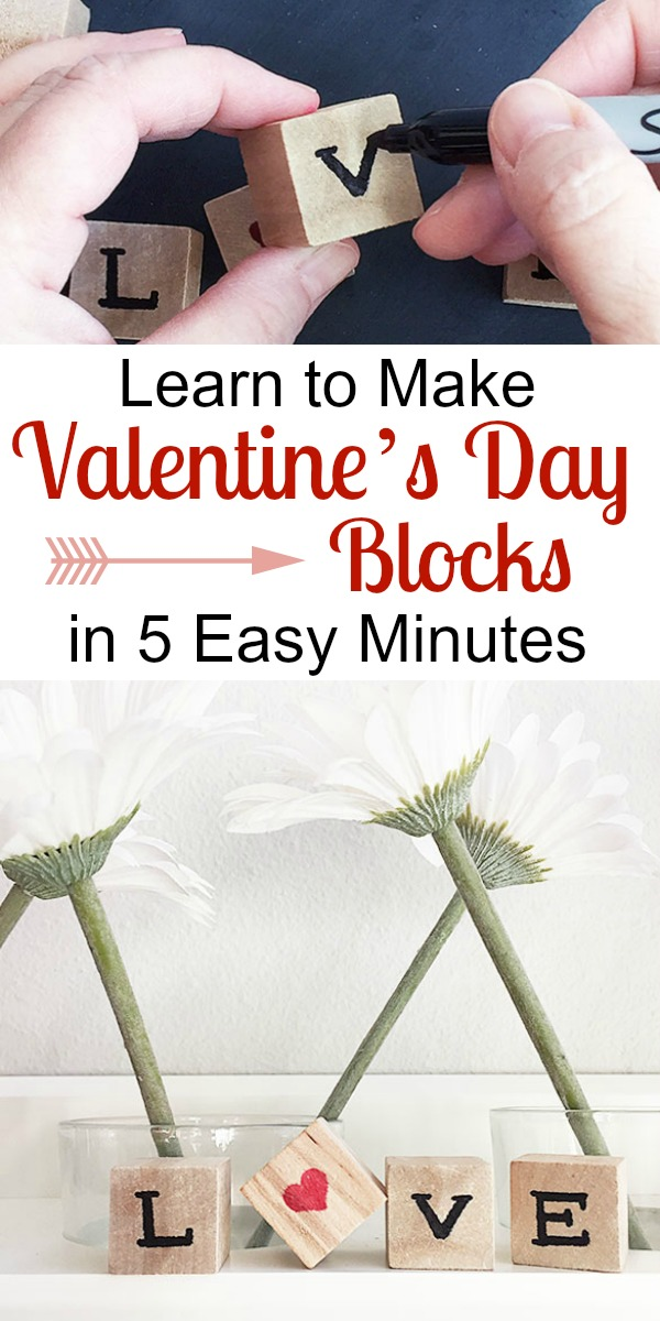 Learn to Make Valentine's Day Blocks in 5 Easy Minutes | Storypiece.net