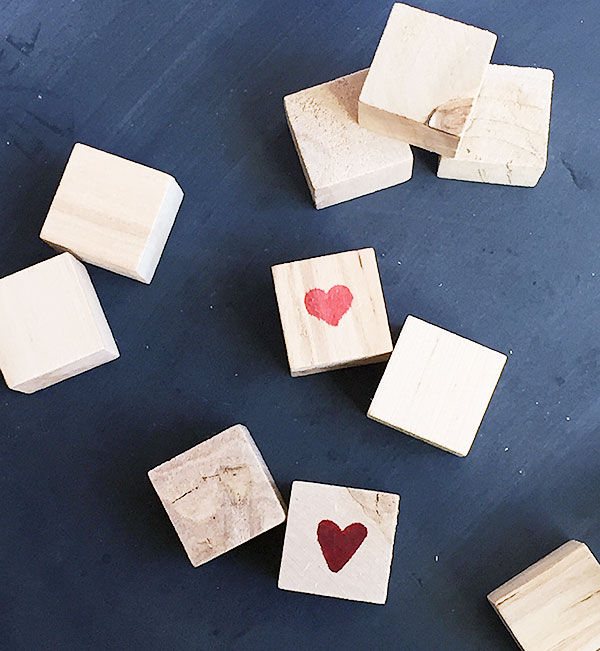How to Make Valentine's Day Blocks in 5 Easy Minutes | Storypiece.net