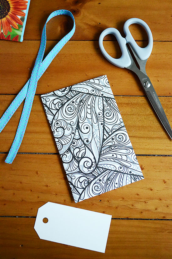 How to Make Beautiful Adult Coloring Page Seed Packets | Storypiece.net