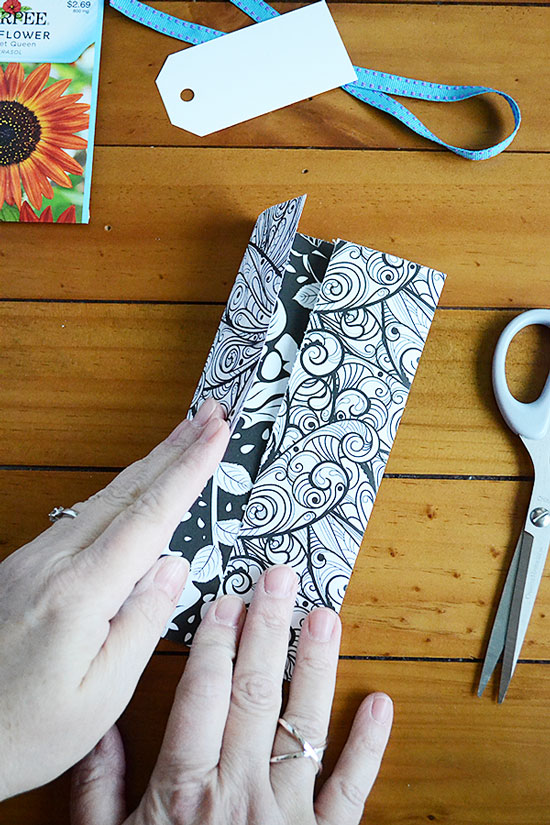 How to Make Beautiful Adult Coloring Page Seed Packets   Storypiece.net