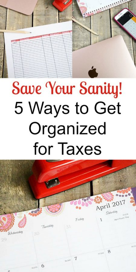 5 of the Best Ways to Organize for Taxes | Storypiece.net