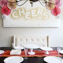 Simple & Easy DIY Paper Fan Rosette Decor for Mother's Day