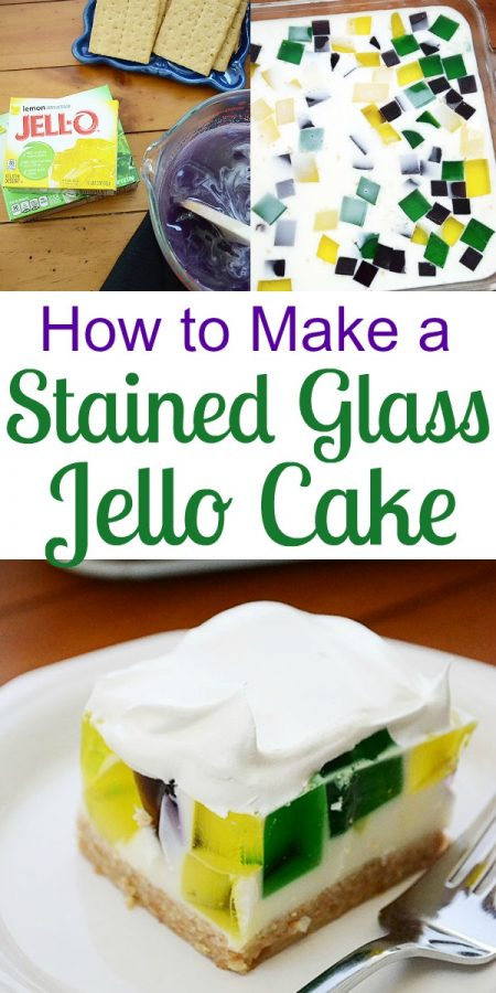 Learn How to Make a Colorful Stained Glass Cake