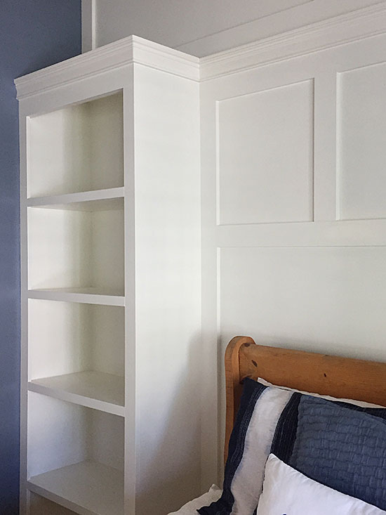 Make a Beautiful Statement Wall with this Amazing Bookcase